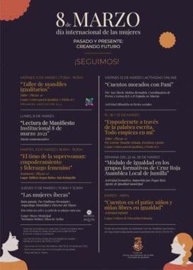 Programa de actos por el Día de la Mujer