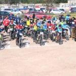 200 ciclistas participaron en la segunda jornada de las Kid Series en Jumilla