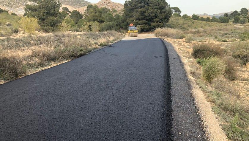 Finalizan las obras de mejora del camino Canalizo Cantero
