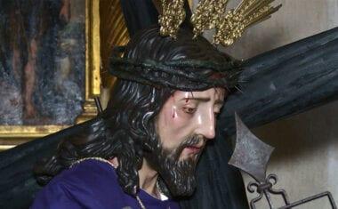 Jesús carga con la Cruz, nueva imagen de la Cofradía del Santísimo Cristo de la Sentencia