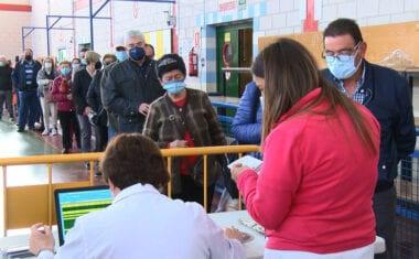 La tan ansiada vacunación general ha empezado hoy en Jumilla