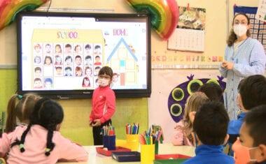 Los alumnos de infantil ya tienen clase todos los días