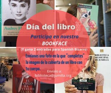 Crear una imagen encajando la cara o cuerpo en la portada del libro