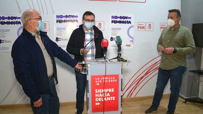 El PSOE hace una valoración positiva del pleno ordinario de abril