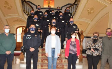 Presentados once nuevos agentes en prácticas que se incorporan a la Policía Local de Jumilla