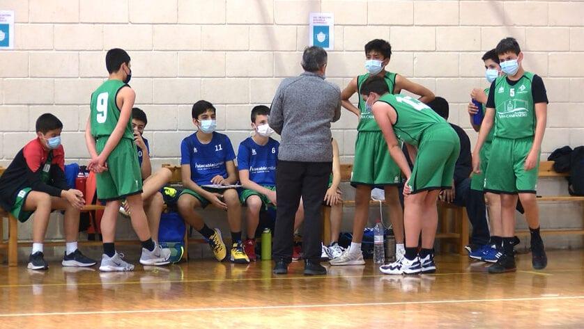 Pleno de victorias para el equipo infantil de la Escuela Municipal de Baloncesto