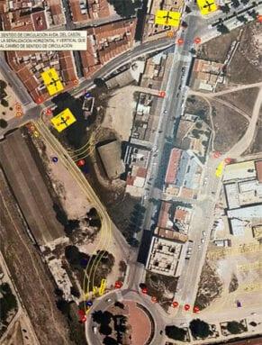 Redistribución del tráfico de la Avenida de la Asunción