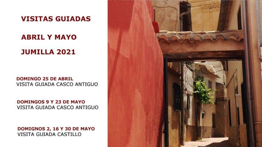 Visitas guiadas al Casco Antiguo y al Castillo para los meses de abril y mayo