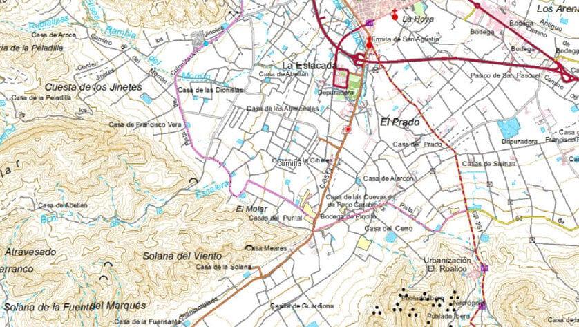 Comienzan los trabajos de mejora de los caminos de La Raja, La Zarza, Yecla-Gamellón y los tramos dos y tres de la pista de Colonización