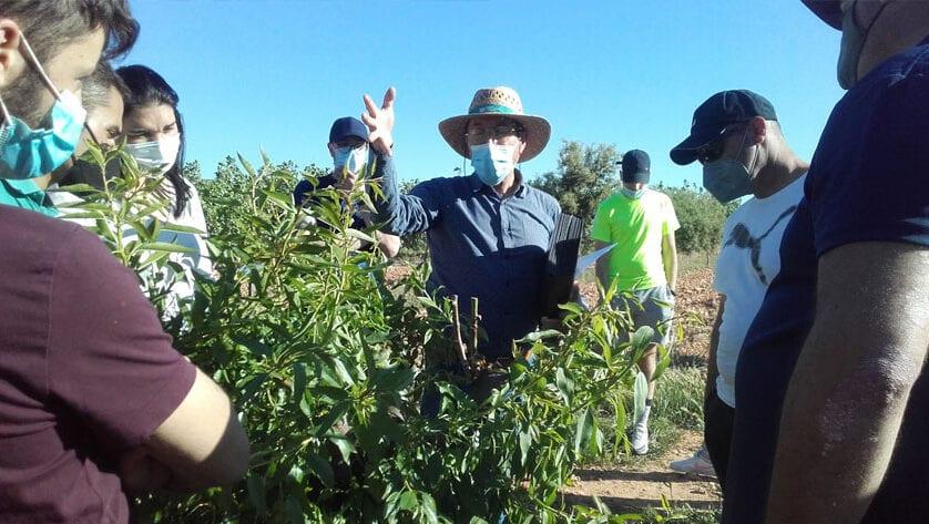 15 jóvenes agricultores alumnos del CIFEA de Jumilla se forman en el Noroeste para crear empresas agrarias