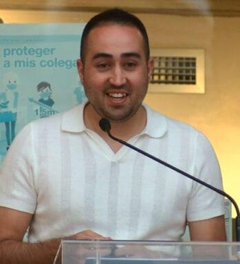"""Miguel Ángel Lozano, director de """"Legado"""""""