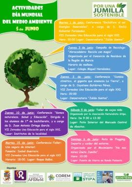Actividades programadas por el Día del Medio Ambiente