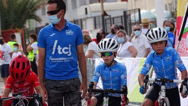 Alcantarilla fue la primera cita del calendario regional de Escuelas de Ciclismo
