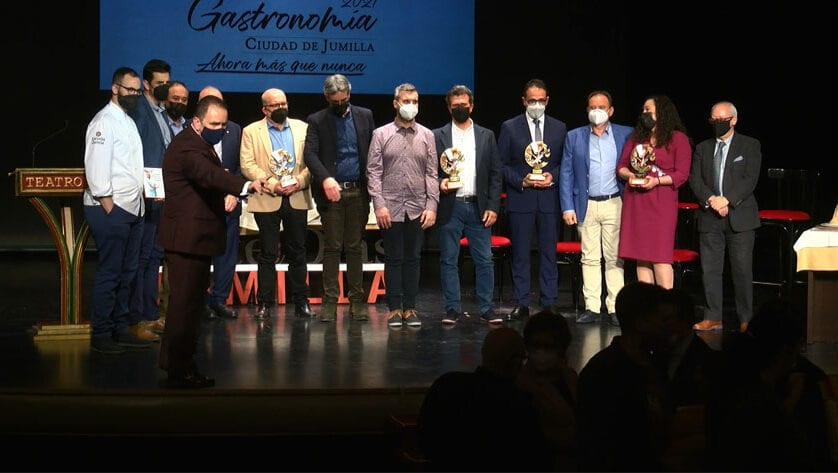 """Bajo el lema """"Ahora más que nunca"""" se entregaron los IV Premios de la Gastronomía Ciudad de Jumilla"""