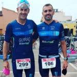 Dos triatletas del Club Triatlón Jumilla estuvieron en una de las pruebas de la Copa de España