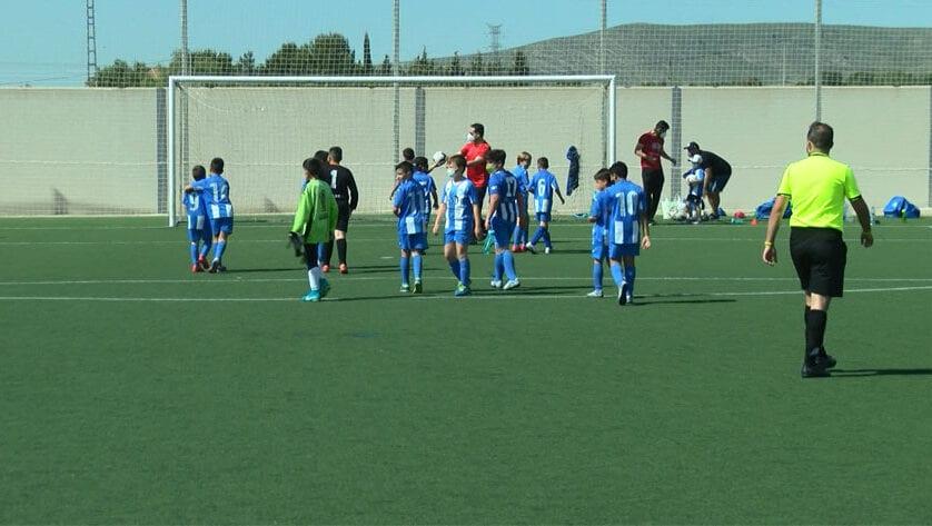 Empate con remontada incluida para los benjamines de Autonómica de la Escuela de Fútbol