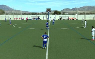 Gran victoria del infantil de Autonómica de la Escuela ante la SD Fútbol Base Yecla