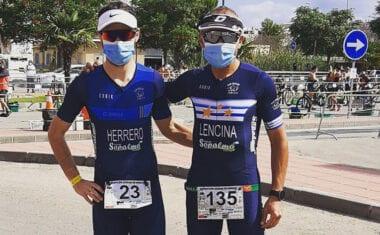 Nuevo podio para Ángel Lencina en el VII Duatlón de Murcia