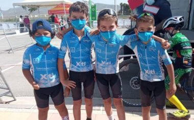 La Escuela de Ciclismo Jumilla estuvo en el III Gran Premio XCO Bahía de Mazarrón