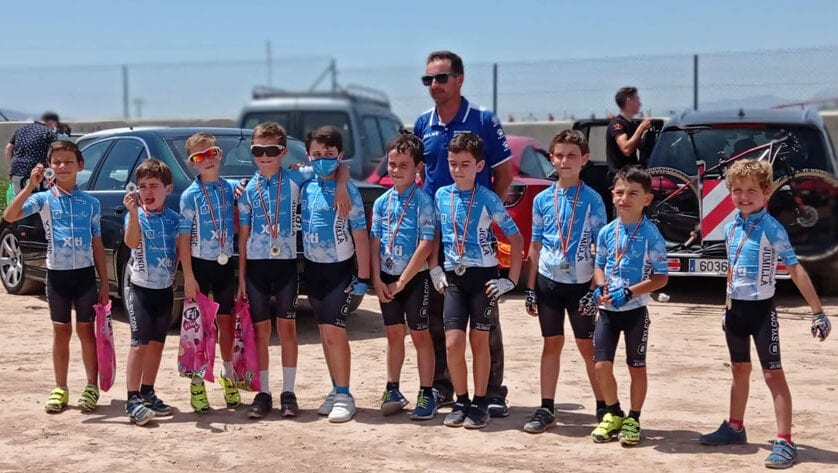 La Escuela de Ciclismo Jumilla retoma las Kid Series BTT con el Gran Premio Lemon Team