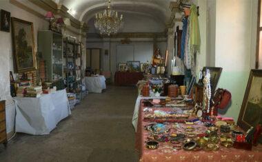 Éxito en el primer fin de semana del mercadillo solidario en favor de la restauración del órgano de la Iglesia de Santiago