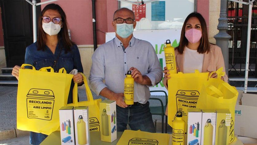 El reciclaje de envases ligeros aumenta en Jumilla un 23% durante el pasado año