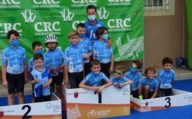 7 trofeos para los de la Escuela Ciclismo Jumilla
