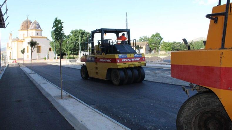 Trabajos de asfaltado durante esta semana