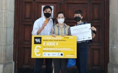 Tres estudiantes del IES Arzobispo Lozano ganan la IV Olimpiada de Arquitectura de la Región de Murcia