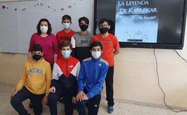 Un grupo de alumnos de 2º de la ESO del IES Infanta Elena vencen en la II edición del Math Talentum