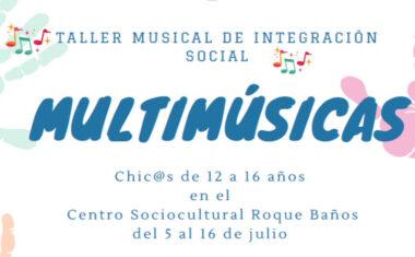 La Asociación Musical Julián Santos impartirá un Taller Musical de Integración Social