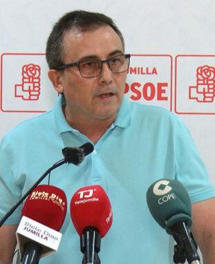 Eugenio Aguado, vicesecretario general PSOE Jumilla
