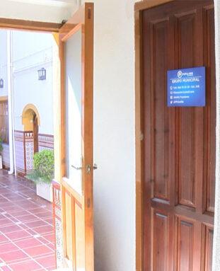 La oficina del Grupo Municipal del PP se encuentra en el Ayuntamiento