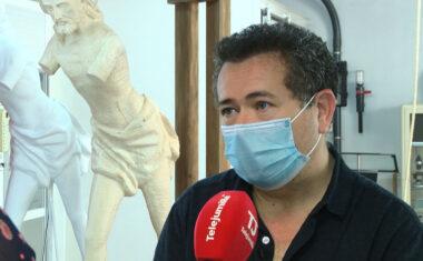La auténtica máquina que utilizaba Francisco Salzillo para realizar sus esculturas expuesta en el Museo Arte y Vino