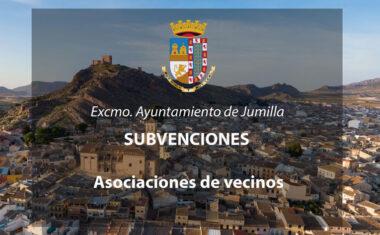 Mañana se abre el plazo de solicitud de subvenciones a asociaciones de vecinos