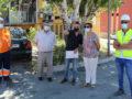 Comienzan las obras de renovación de asfaltado de las calles de las viviendas del MOPU y entorno