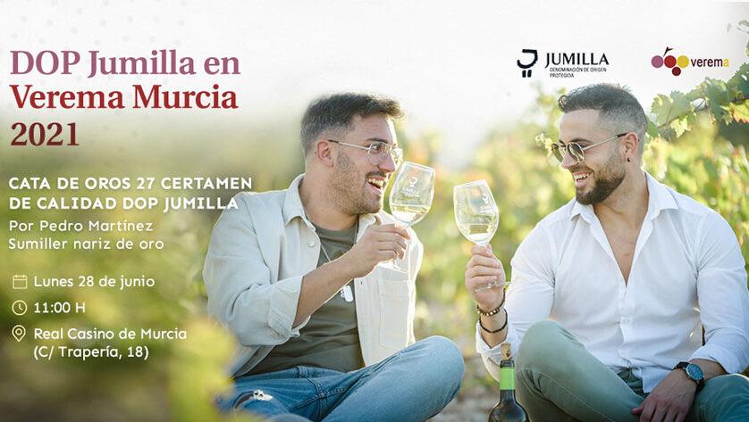 La DOP Jumilla protagonista en la cata de inauguración del salón Verema que este lunes se realiza en la capital murciana