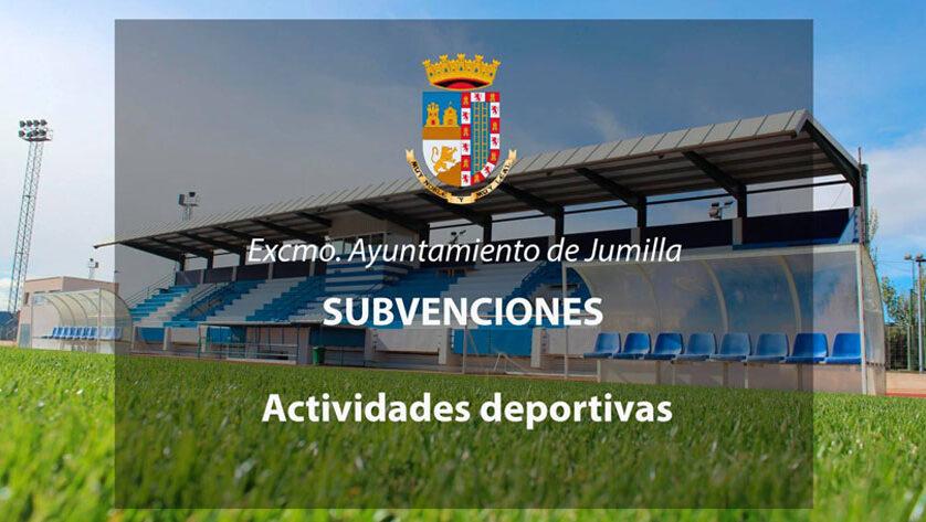 Abierto el plazo de solicitud de subvenciones destinadas a la realización de actividades deportivas