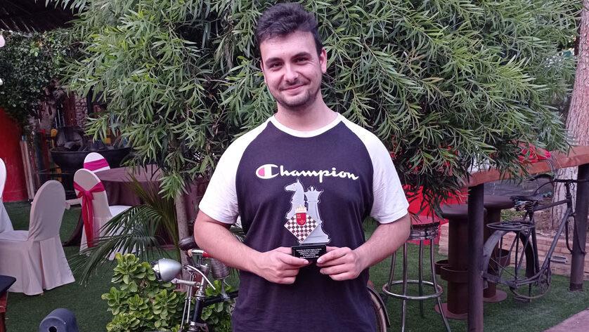 Alejandro Castellanos queda subcampeón en el Regional de Ajedrez Absoluto