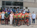 Conlógika Team hizo parada en Jumilla durante la primera etapa de su reto solidario