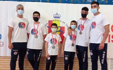 Cuatro medallas para el Club Taekwondo Jumilla en la final del Campeonato Regional en Edad Escolar