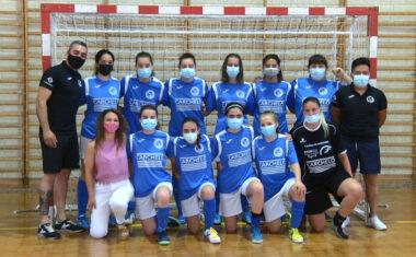 El equipo femenino de la Escuela de Fútbol Sala Bodegas Carchelo termina la temporada en línea ascendente