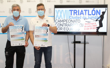 El XXVIII Triatlón de Jumilla se disputará el 4 de julio y será contrarreloj por equipos