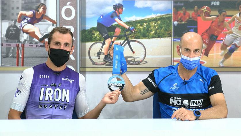 Fran Guirao y Guillermo Bernal completaron la distancia Ironman en el Campeonato de España de larga distancia