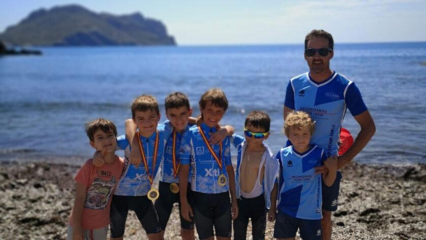 La Escuela de Ciclismo Jumilla estuvo en la última jornada programada de las Kid Series