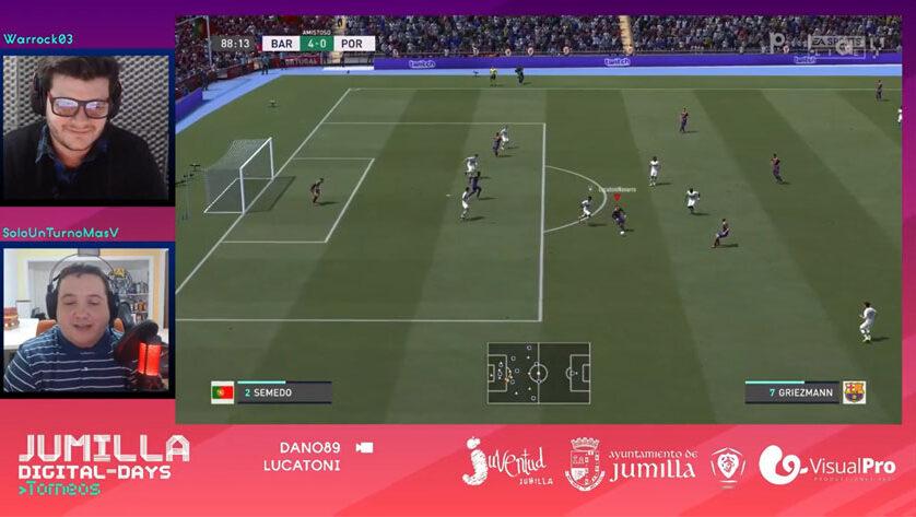 La Play Jumilla Digital-Days reúne a 150 jugadores y más de 3.500 espectadores