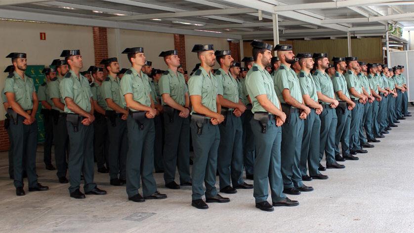 El Cuartel de la Guardia Civil cuenta con cinco nuevos agentes