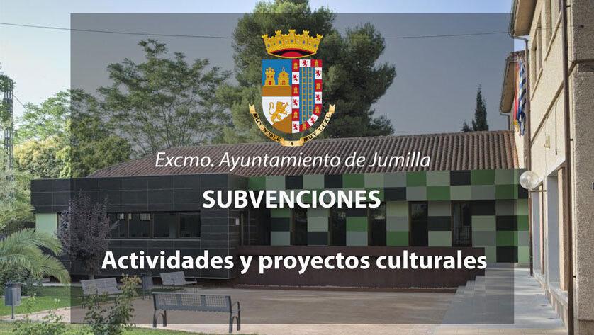 Hoy se ha abierto el plazo para solicitar subvenciones a proyectos culturales