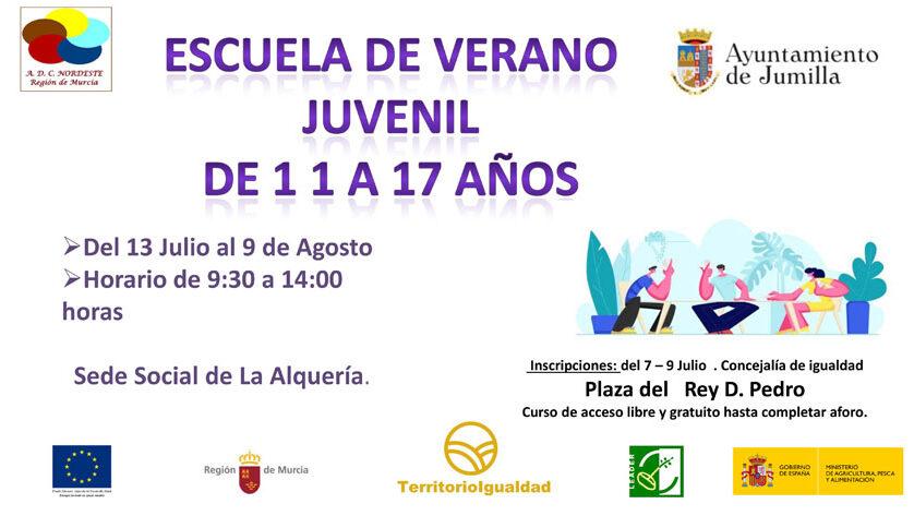 Hoy se abre el plazo de inscripciones para la Escuela Juvenil de La Alquería