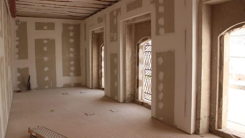 Avanzan las obras de rehabilitación de la Casa Pérez de los Cobos como Casa de la Música y las Artes